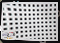 Fireproof Acoustic Ceiling Tiles Perforated Suspended Panel For museum , 600mm x 600mm